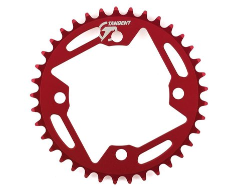 Tangent Halo 4-Bolt Chainring (Red) (37T)