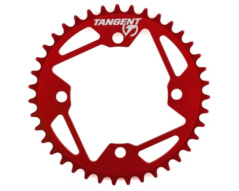 Tangent Halo 4-Bolt Chainring (Red) (39T)