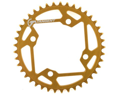 Tangent Halo 4-Bolt Chainring (Gold) (41T)