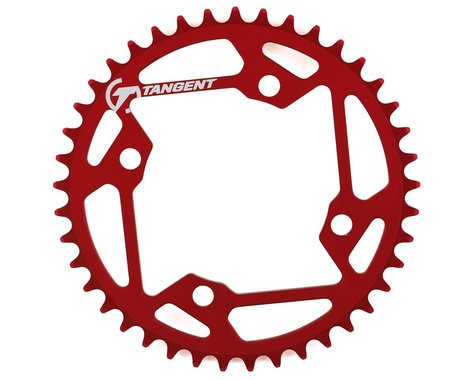 Tangent Halo 4-Bolt Chainring (Red) (41T)