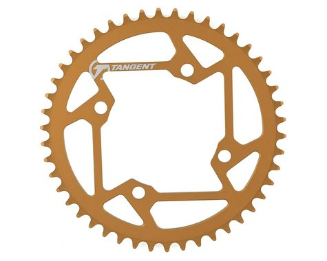 Tangent Halo 4-Bolt Chainring (Gold) (46T)
