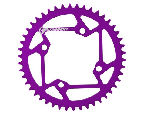 Tangent Halo 4-Bolt Chainring (Purple) (46T)