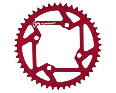 Tangent Halo 4-Bolt Chainring (Red) (47T)