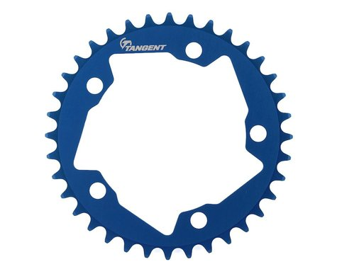 Tangent Halo 5-Bolt Chainring (Blue) (36T)