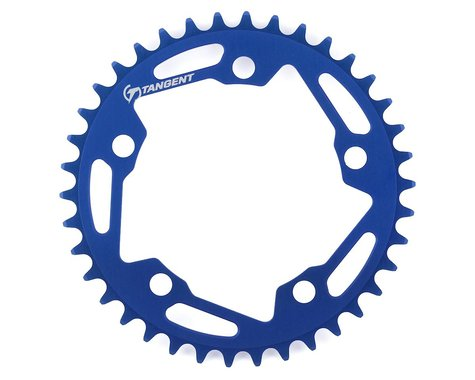Tangent Halo 5-Bolt Chainring (Blue) (38T)