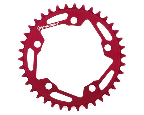 Tangent Halo 5-Bolt Chainring (Red) (38T)