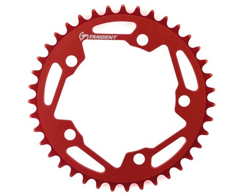 Tangent Halo 5-Bolt Chainring (Red) (39T)