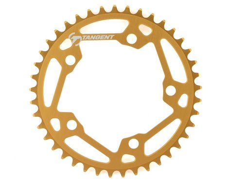 Tangent Halo 5-Bolt Chainring (Gold) (41T)