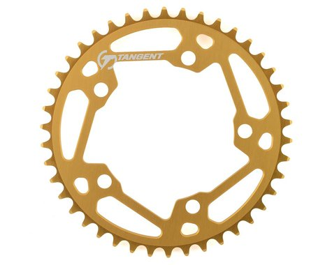 Tangent Halo 5-Bolt Chainring (Gold) (42T)