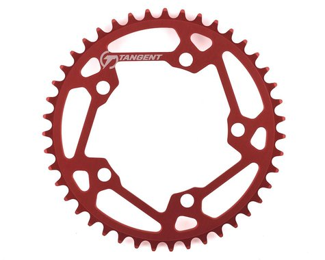 Tangent Halo 5-Bolt Chainring (Red) (43T)