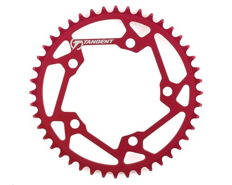 Tangent Halo 5-Bolt Chainring (Red) (44T)