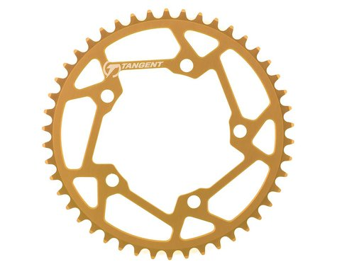 Tangent Halo 5-Bolt Chainring (Gold) (46T)