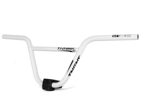 "Tangent T.I.D. BMX Handlebar (White) (8.5"" Rise)"