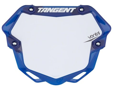 Tangent 3D Ventril Number Plate (Trans Blue) (L)