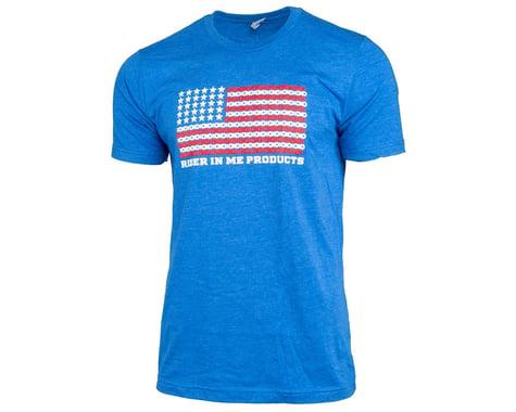 Tangent RIM USA Flag T-Shirt (Blue) (XL)