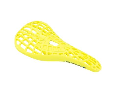Tioga D-Spyder S-Spec BMX Seat - Pivotal, Neon Yellow