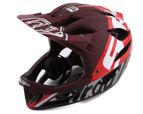 Troy Lee Designs Stage MIPS Helmet (Nova SRAM Burgundy) (XS/S)