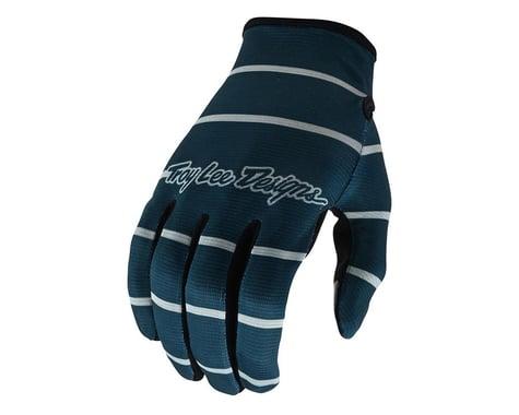 Troy Lee Designs Flowline Gloves (Stripe Blue Grey) (L)