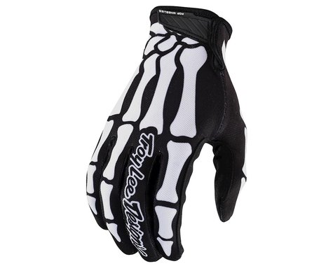 Troy Lee Designs Air Gloves (Skully Black) (L)