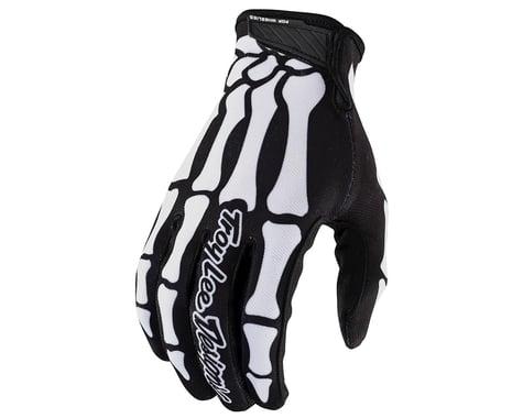 Troy Lee Designs Air Gloves (Skully Black) (2XL)