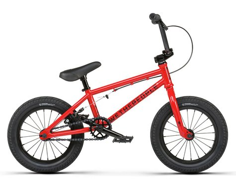 """We The People 2021 Riot 14"""" BMX Bike (14"""" Toptube) (Red)"""