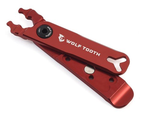 Wolf Tooth Components Master Link Combo Pliers (Red/Black Bolt)