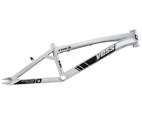 "YESS Type X 20"" BMX Race Frame (White) (Pro XXXL)"