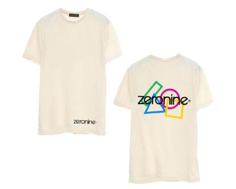 Zeronine Geo Cluster Logo T-Shirt (Vintage White) (XL)
