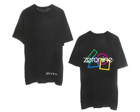 Zeronine Geo Cluster Logo T-Shirt (Black) (2XL)