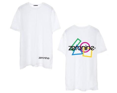 Zeronine Geo Cluster Logo T-Shirt (White) (3XL)