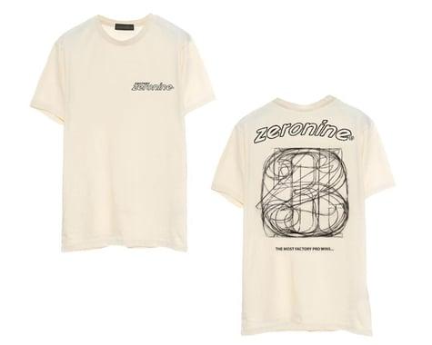 Zeronine Numbers Soft T-Shirt (Vintage White) (XL)