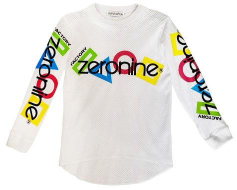 Zeronine Youth Mesh Racing Jersey (White) (Youth XL)
