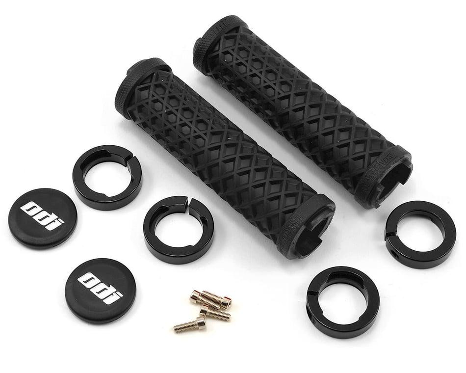 ODI Vans Lock-On Grips (Black) (130mm) (Bonus Pack)